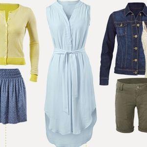 CAbi Breeze Dress Set #837